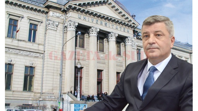 Rectoratul Universității a fost câștigat de Cezar Spînu cu 460 de voturi