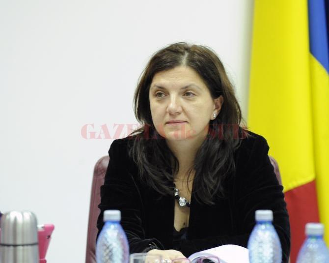 Ministrul justiției, Raluca Prună (FOTO: agerpres.ro)