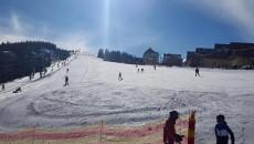 Pârtiile sunt bune pentru schi la Rânca