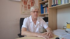 Conf. univ. Adrian Bighea, șeful Clinicii de Recuperare, Medicină Fizică și Balneologie și președintele Societății Române de Reabilitare Medicală (Foto: Traian Mitrache)