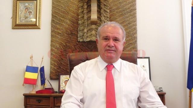 Ion Călinoiu, fostul preşedinte al CJ Gorj (Foto: Eugen Măruță)