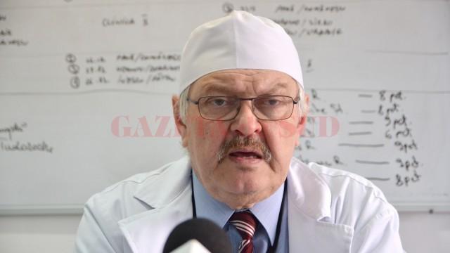 Prof. univ. dr. Nicolae Cernea (FOTO: GdS)