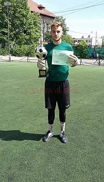 Claudiu Iovănescu - cel mai bun portarClaudiu Iovănescu - cel mai bun portar