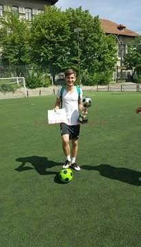 Cristian Mitrică -  golgheterul competiţiei