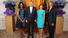 Romanian-President-Klaus-Iohannis-and-his-wife-with-US-President-Barack-Obama-and-First-Lady