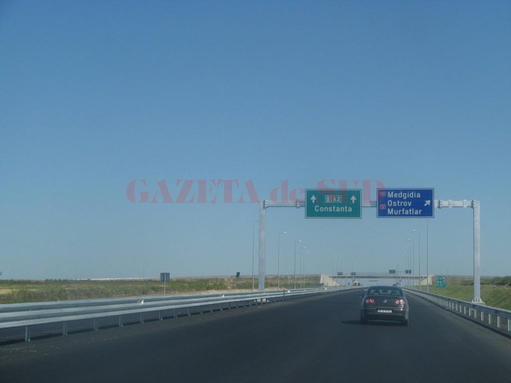 Trafic restricționat pe Autostrada Soarelui