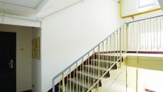 Casa scării din blocul D27 scara 1 din Brazda lui Novac s-a zugrăvit cu bani din fondul de reparaţii (Foto: Lucian Anghel)