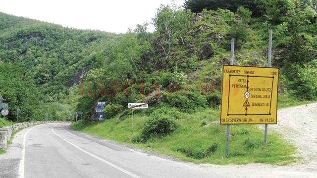 Traficul rutier în Defileul Jiului va fi restricţionat după Paşte (Foto: Eugen Măruţă)