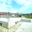 Fundația ce stă la baza casei ce reconstituie locuința în care s-a născut Ștefan Odobleja (Foto: Traian Mitrache)