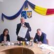 Ion Călinou, preşedintele CJ Gorj, a prezentat acordul de înfrăţire
