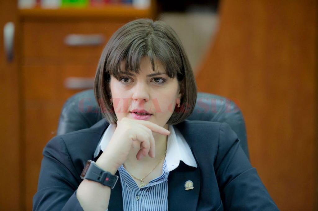 Procurorul-șef al DNA, Laura Codruța Kovesi (Foto: revista22.ro)
