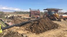 Lucrările la şoseaua de centură se desfăşoară la Drăgoieni şi în zona Amaradia
