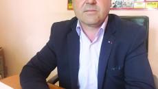 Lucian Vînătoru, primarul interimar al comunei Argetoaia
