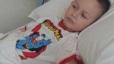 Eduard Suditu, la numai o zi după operaţie, la Spitalul Monza din Bucureşti