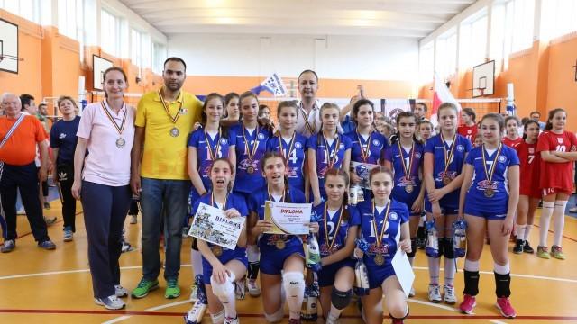 Echipa SCV Craiova a oprit acasă medaliile de bronz (foto: Lucian Anghel)