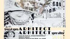 afis expozitie studiu arhitectural