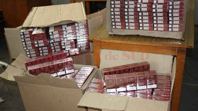 Instanța a dispus confiscarea țigărilor de contrabandă descoperite în autoutilitara  condusă de Tîmplaru