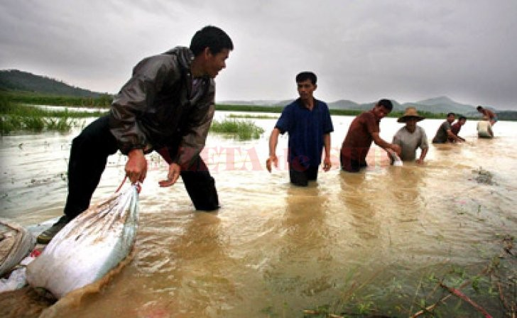 Inundații în China (Foto: Realitatea.net)
