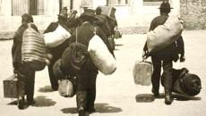 Fotografie publicată de La Repubblica, surprinsă în timpul emigrației italienilor (Foto: recione.emilia.romagna.it)