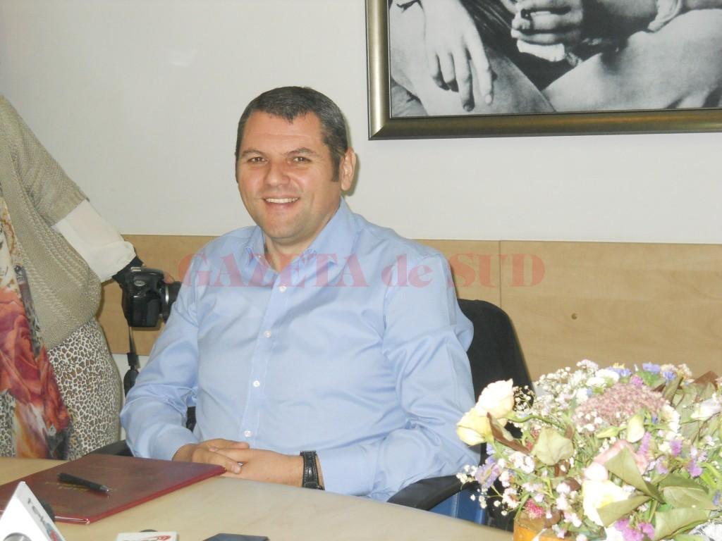 Dan Laurenţiu, şeful Direcţiei de Evidenţă a Persoanelor Târgu Jiu