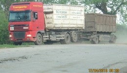 Pe porţile depozitului ecologic de la Mofleni intră gunoi din alte judeţe