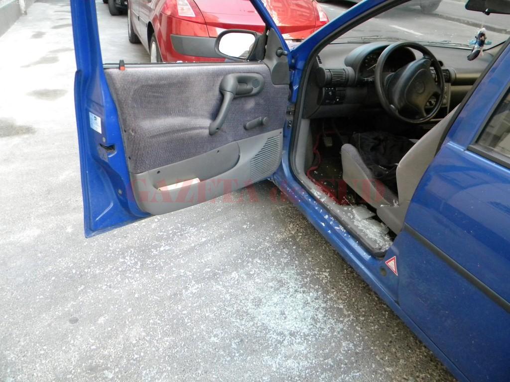Oamenii legii l-au reținut joi pe Mădălin, care a fost cercetat în peste 100 de dosare penale pentru furturi din autoturisme (FOTO: arhiva GdS)