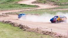 Distracţie şi voie bună la prima ediţie a Campionatului Naţional de Rallycross în Poiana Narciselor