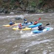 Raftingul, un sport pentru sănătate şi senzaţii tari