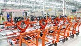 Fabrica Ford din Craiova livrează câteva repere pentru motoarele de 1,5 litri produse în Marea Britanie (Foto: arhiva GdS)