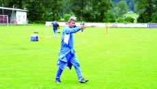 Gigi Mulţescu încearcă să se descurce cu jucătorii pe care îi are la dispoziţie momentan (Foto: csuc.ro)