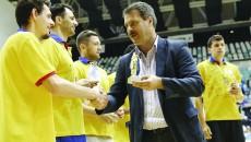 Marius Barcan i-a felicitat pe voleibalişti pentru performanţa cuceririi titlului naţional