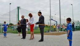 Inaugurarea Centrului Turistic pentru Agrement şi Sport