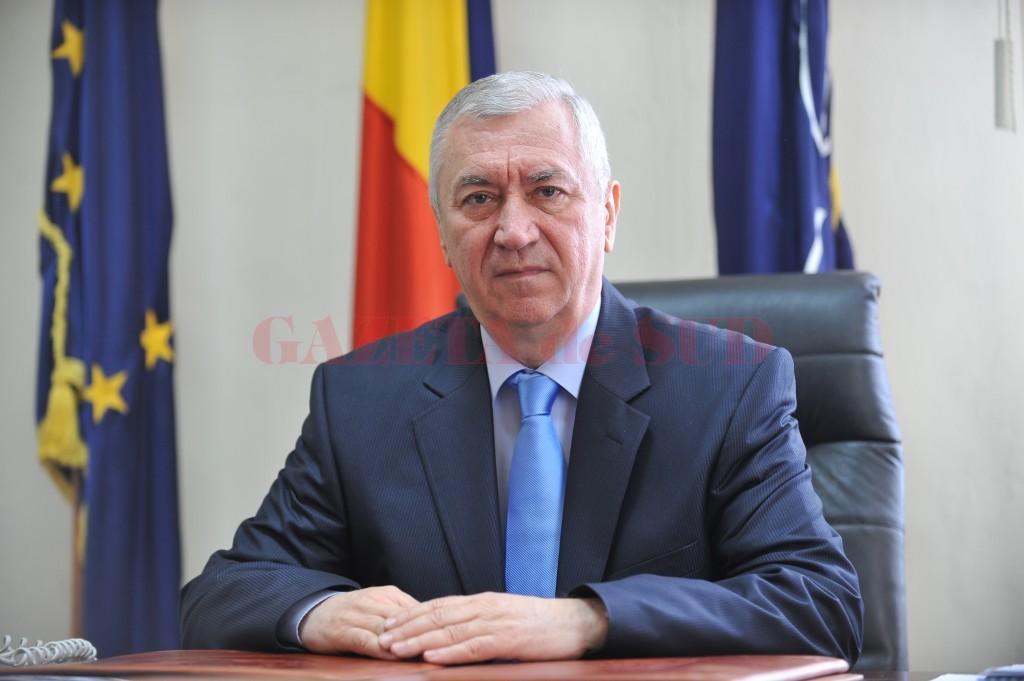 Ion Prioteasa, preşedintele Consiliului Judeţean (CJ) Dolj