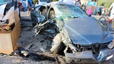 Patru persoane au fost rănite în urma accidentului produs pe strada Prelungirea Bechetului