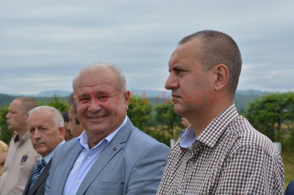 Ion Călinoiu, alături de Cosmin Popescu