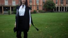 """Ioana Vasile, absolventă a Colegiului Național """"Carol I"""" din Craiova, studentă la Universitatea Oxford din Marea Britanie (Foto: Arhivă personală)"""