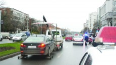 Mașinile de ridicări s-ar putea întoarce pe străzi după ce modificările aduse Codului Rutier vor intra în vigoare (Foto: arhiva GdS)