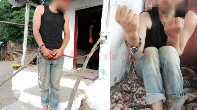 Victimele erau ţinute în lanţuri, bătute şi batjocorite