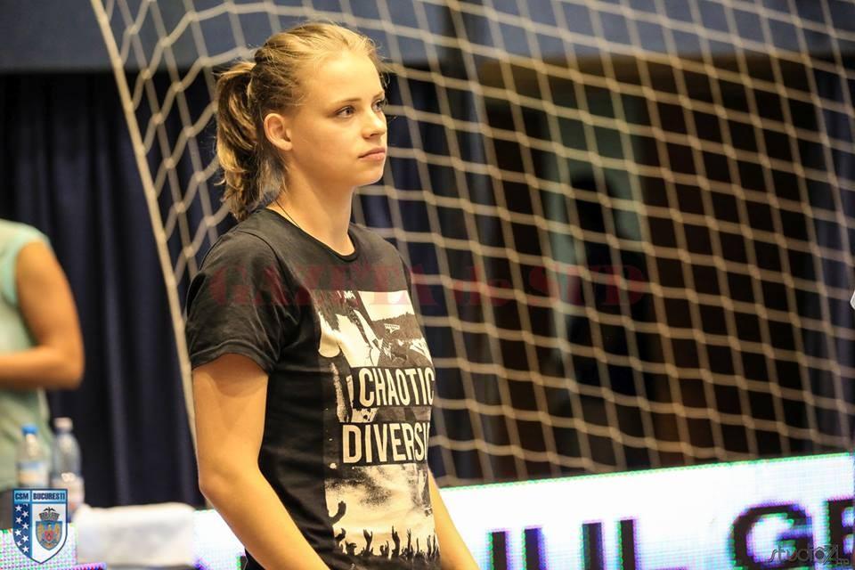 Yuliya Zaremba a jucat la mai multe echipe din România