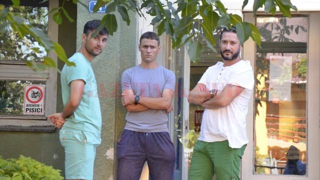 Dragoș Bon (foto, în dreapta) e hotărât să facă o echipă competitivă la Filiași
