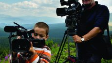 Dumitru Budrala la filmarile Drumul regilor - Transalpina_2