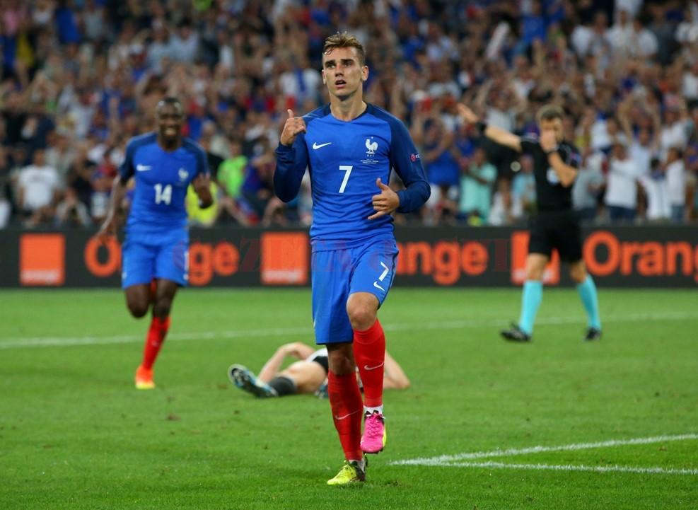 Antoine Griezmann a dat cu nemţii de pământ (foto: uefa.com)