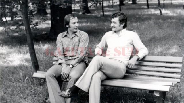 Au trecut 13 ani de la trecerea în neființă a lui Petre Deselnicu (în dreapta; foto: csuc.ro)
