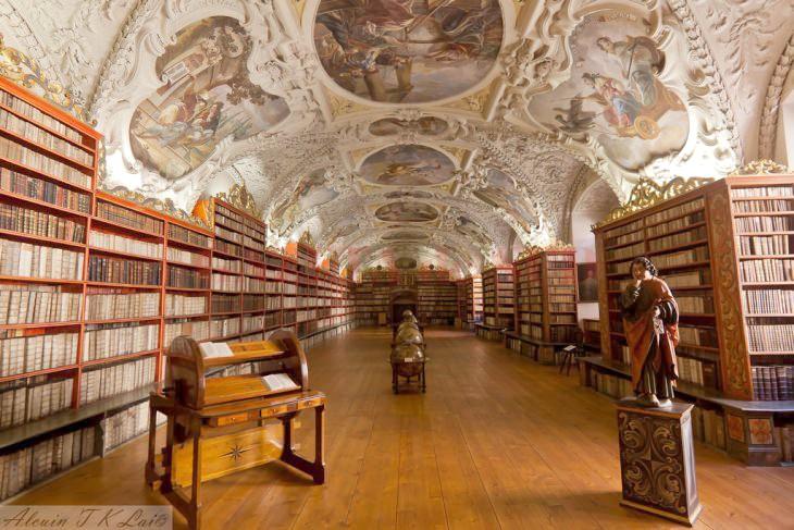Biblioteca Strahov, Praga