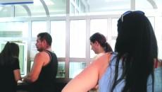 La Trezoreria Craiova se stă la două cozi pentru o singură plată. La ghișeul 22 se scanează hârtiile, iar la ghișeul 21, contribuabilii mai stau la încă o coadă pentru a plăti