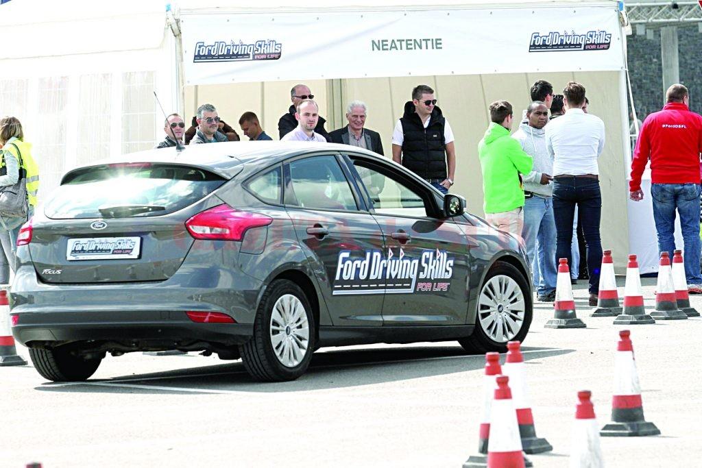 Caravana Ford Driving Skills for Life a ajuns în Craiova la jumătatea lunii iunie