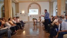 Reprezentanții ANSVSA, fața în față cu membrii Consiliului Consultativ (Foto: Bogdan Grosu)