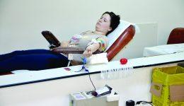 Puțini dintre cei care vin la Centrul Regional de Transfuzie Sanguină Craiova sunt eligibili pentru donare (FOTO: Claudiu Tudor)