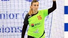 Yulyia Dumanska, portarul naționalei de tineret a României și al echipei SCM Craiova