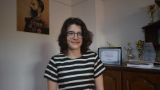 """Erminia Petra Popa, eleva cu media 10 la evaluarea națională de la Colegiul Național """"Carol I"""" din Craiova (Foto: Traian Mitrache)"""